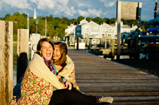 Mystic CT Sunrise Engagement