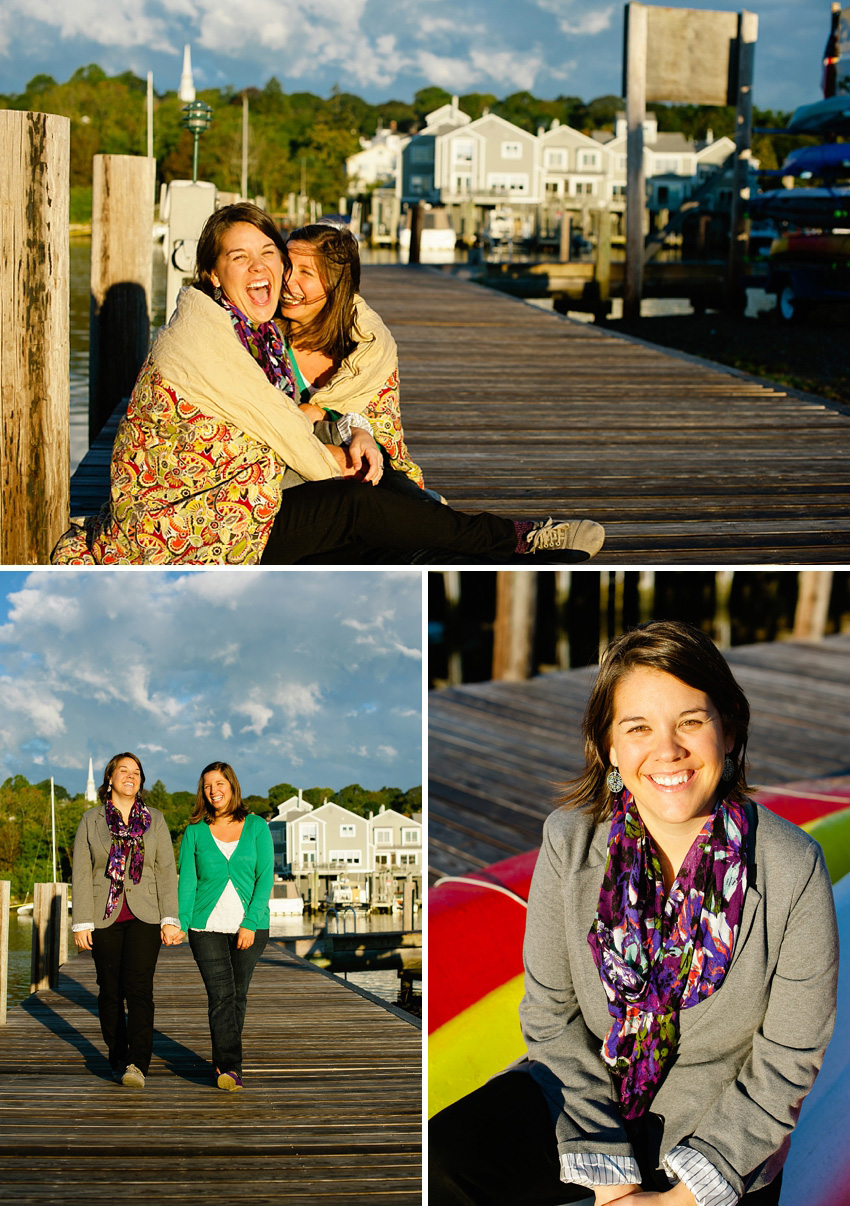 mystic connecticut engagement