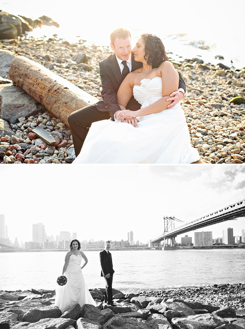 brooklyn bridge trash the dress